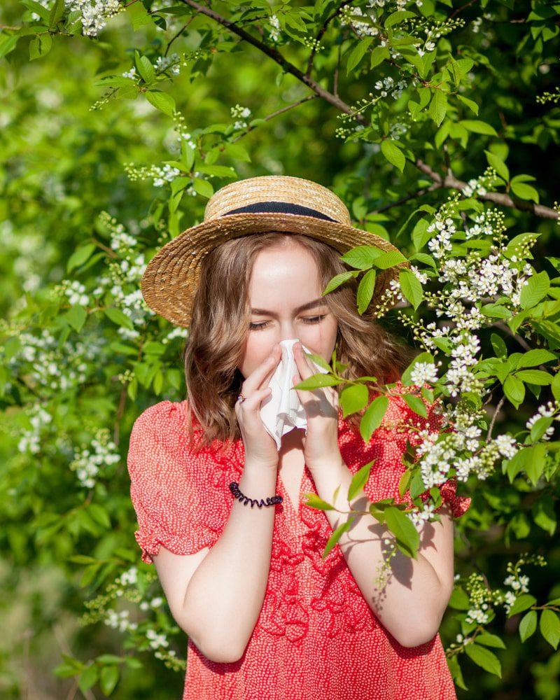 alergia, uczulenie na pyłki