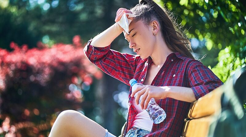 Udar słoneczny, cieplny i przegrzanie organizmu